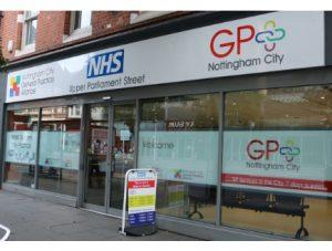 GP+ Nottingham City Service